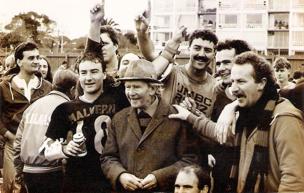 Frank Lansbury 1987 Grand Final